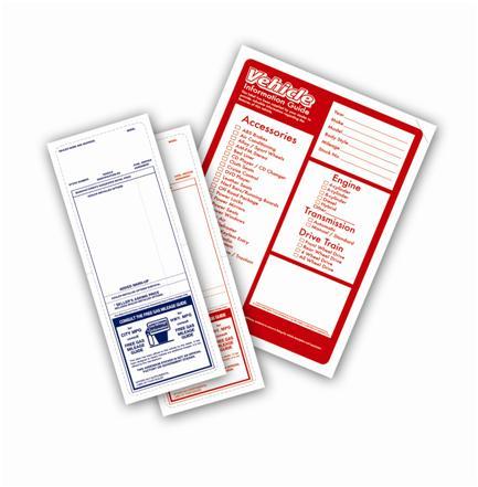 Dealer Addendum Sticker And Vehicle Info Sticker