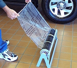 adhesive floor mats large and small rolls