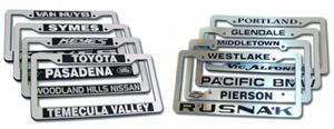 Dealer License Plate Frames